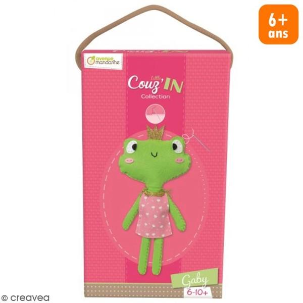 Kit créatif Little Couz'in Gaby la grenouille - Photo n°1