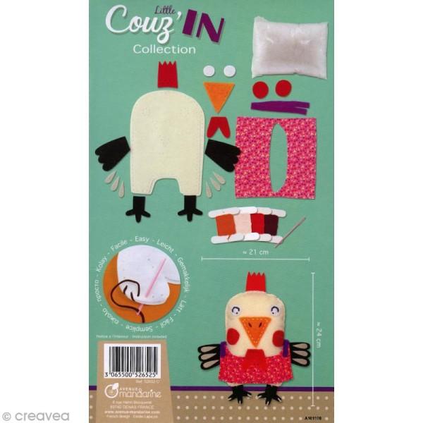 Kit créatif Little Couz'in Zoé la poule - Photo n°2