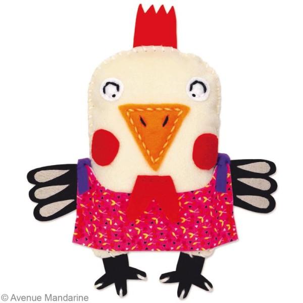 Kit créatif Little Couz'in Zoé la poule - Photo n°3