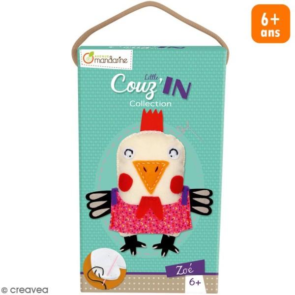 Kit créatif Little Couz'in Zoé la poule - Photo n°1