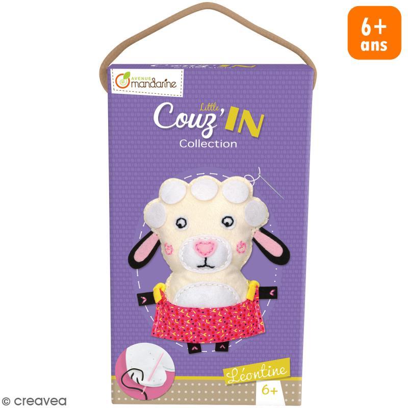 kit cr atif little couz 39 in l ontine le mouton jeux cr atifs de 6 10 ans creavea. Black Bedroom Furniture Sets. Home Design Ideas