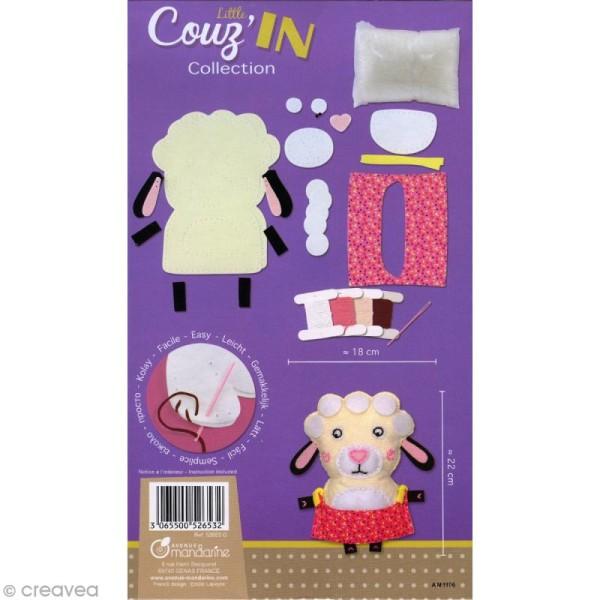 Kit créatif Little Couz'in Léontine le mouton - Photo n°2