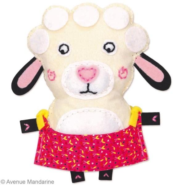 Kit créatif Little Couz'in Léontine le mouton - Photo n°3