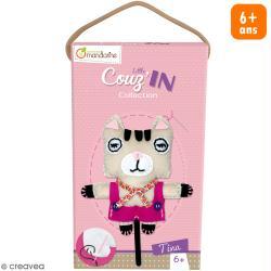 Kit créatif Little Couz'in Tina le chat