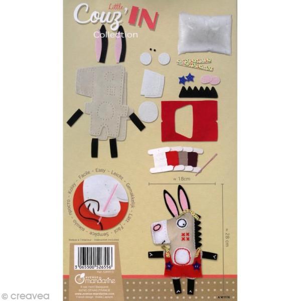 Kit créatif Little Couz'in Ernest l'âne - Photo n°2