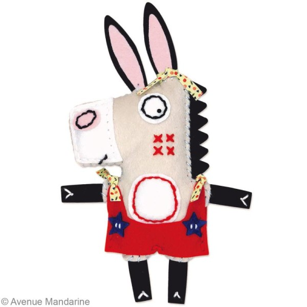 Kit créatif Little Couz'in Ernest l'âne - Photo n°3