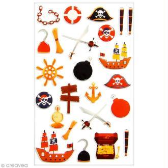 Sticker Fantaisie Cooky - Pirates - 23 pcs