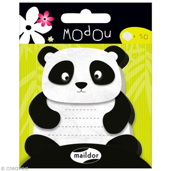 Mémo adhésif Modou - Panda x 50 pcs - Photo n°1