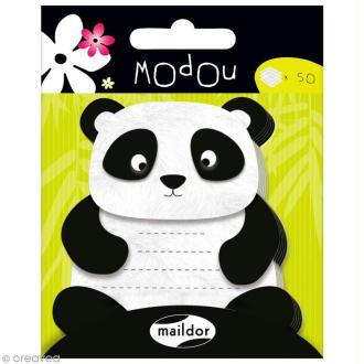 Mémo adhésif Modou - Panda x 50 pcs