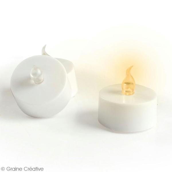Bougies chauffe plat LED - 4 pcs - Photo n°2