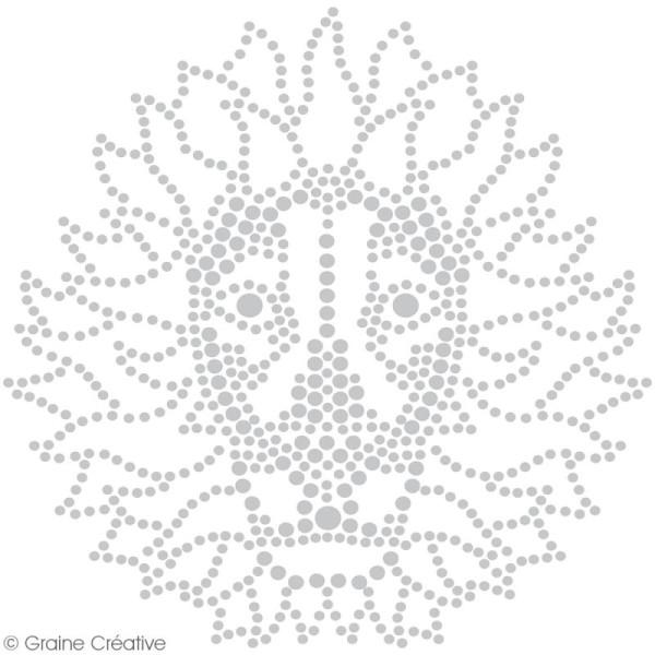 Set peinture Slow & Art Graine Créative - Animaux blancs - 9 pcs - Photo n°4