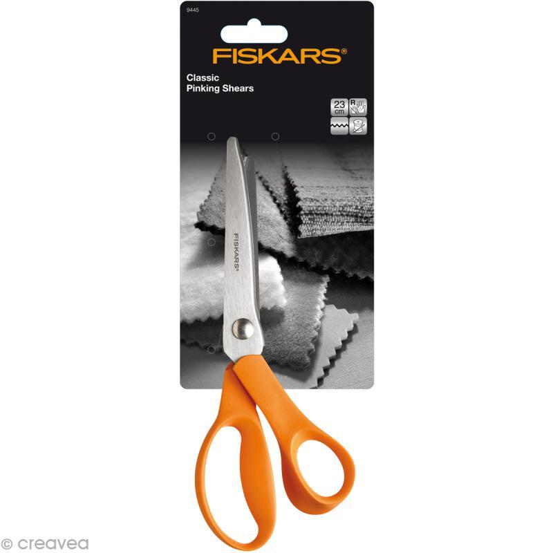 Ciseaux cranteurs Fiskars 23 cm - Photo n°2