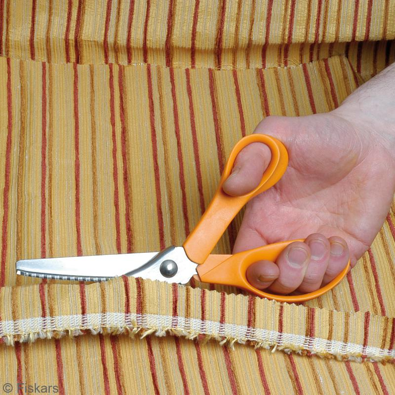 Ciseaux cranteurs Fiskars 23 cm - Photo n°3