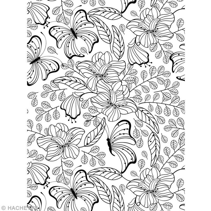 Livre coloriage adulte anti stress a4 100 coloriages livre coloriage adulte creavea - Coloriages pour adultes ...