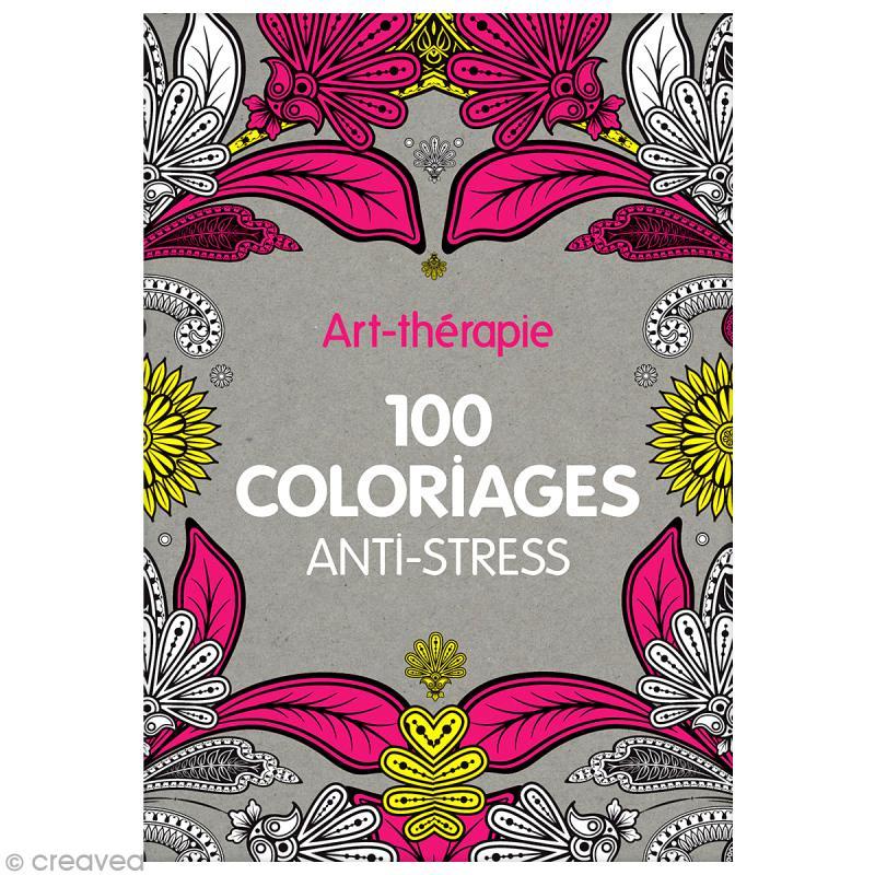 livre a colorier anti stress
