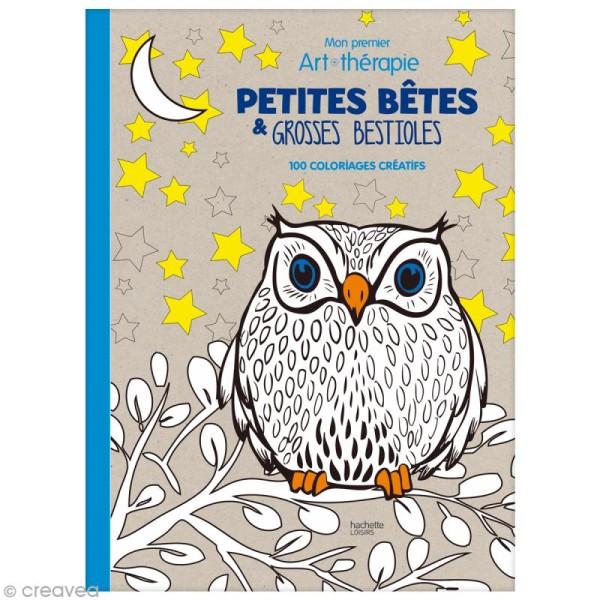 Livre Coloriage Enfant Anti Stress Mon 1er Art Therapie Petites