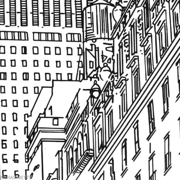 Coloriage Adulte New York.Livre Coloriage Adulte New York 21 X 29 Cm