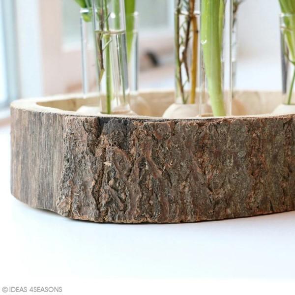 Coupelle en bois naturel - 20 x 5 cm - Photo n°2