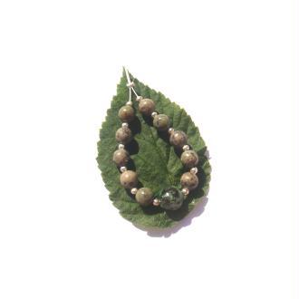 Turquoise Africaine : Assortiment 11 perles 6 à 8 MM de diamètre