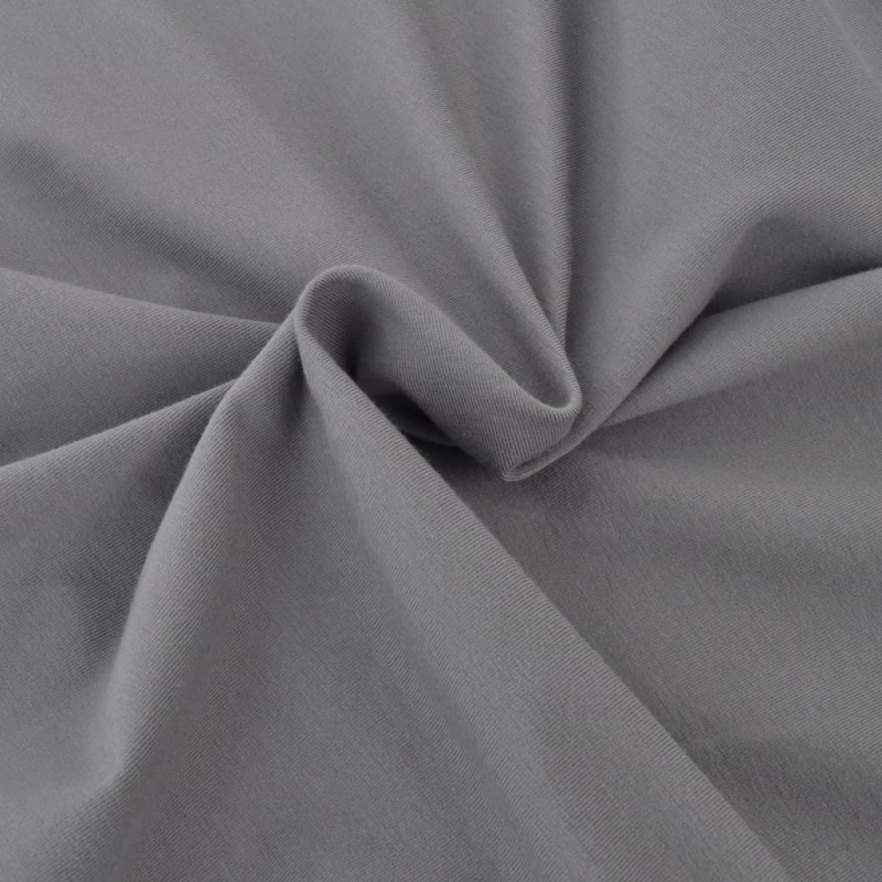 vidaxl housse de canap en coton jersey extensible gris. Black Bedroom Furniture Sets. Home Design Ideas