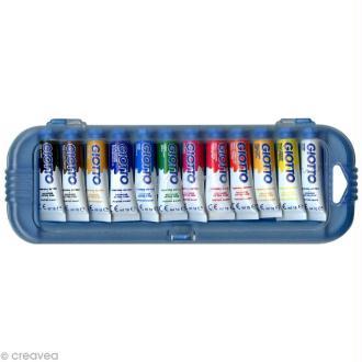 Gouache extra fine GIOTTO - 10 ml x 12 tubes