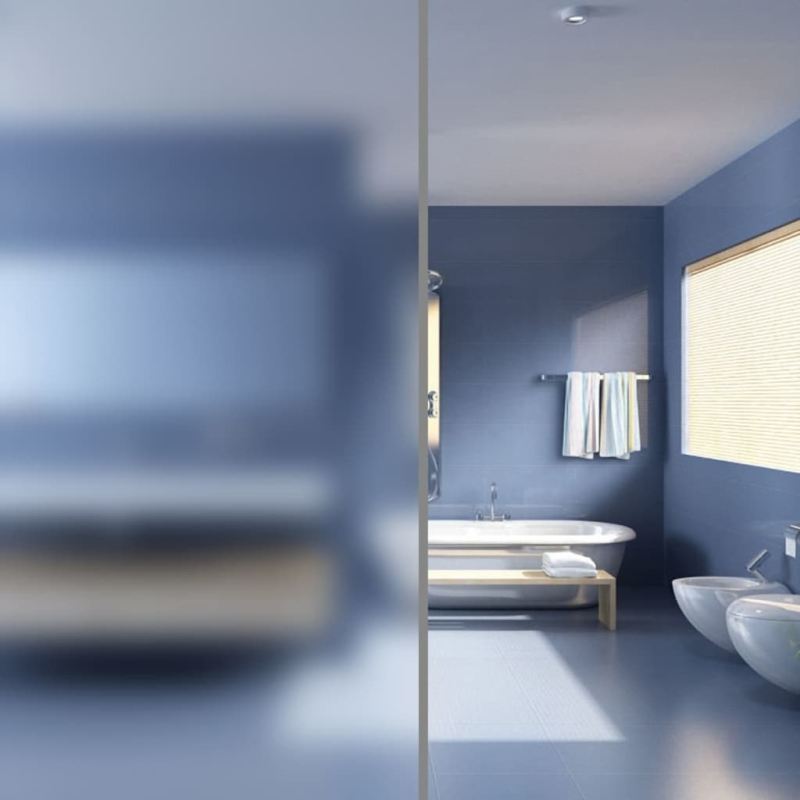 film intimit adh sif opaque pour vitres 09 x 20 m pochoir fen tre creavea. Black Bedroom Furniture Sets. Home Design Ideas