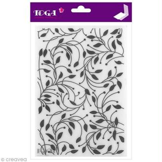 Plaque d'embossage Cut It All Toga - Feuillages - A5