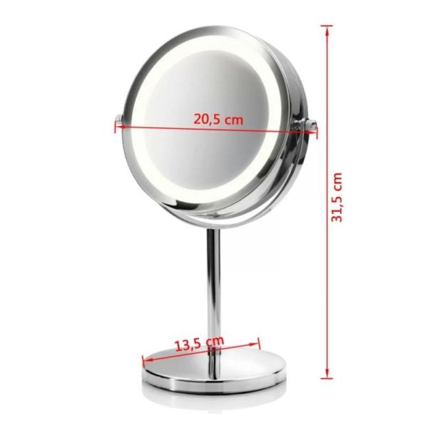 Miroir cosmétique CM 840 Miroir de maquillage lumineux Medisana - Photo n°3