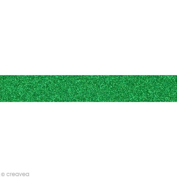 Glitter Tape - Oh Glitter by Toga - vert sapin x 2 m - Photo n°1