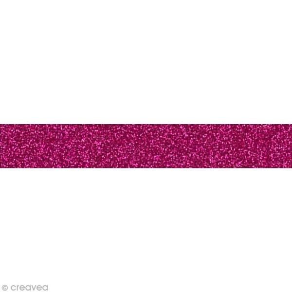 Glitter Tape - Oh Glitter by Toga - Rose framboise x 2 m - Photo n°1