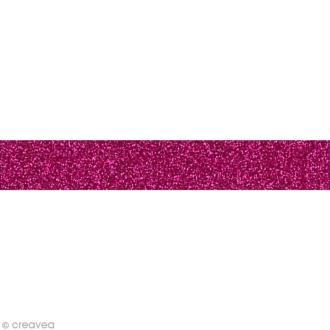 Glitter Tape - Oh Glitter by Toga - Rose framboise x 2 m