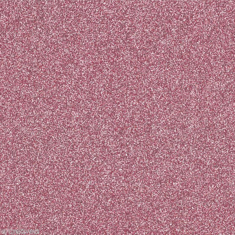 papier adh sif paillet rose poudr oh glitter by toga 30 5 x 30 5 cm papier paillet. Black Bedroom Furniture Sets. Home Design Ideas
