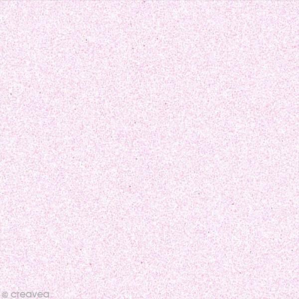 Papier adhésif pailleté rose pastel - Oh Glitter by Toga - 30,5 x 30,5 cm - Photo n°1