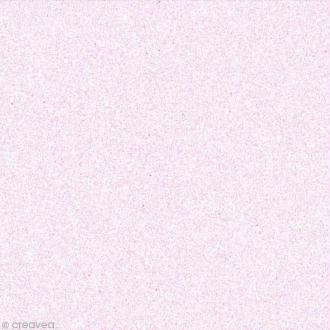 Papier adhésif pailleté rose pastel - Oh Glitter by Toga - 30,5 x 30,5 cm