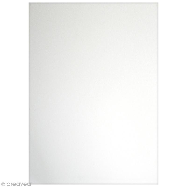 Flex thermocollant plastifié A5 - Blanc - Photo n°2