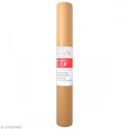 Feuille de colle thermocollante 30 x 70 cm - Photo n°1