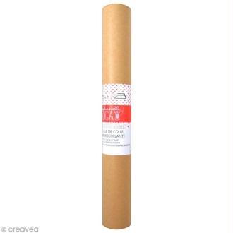 Feuille de colle thermocollante 30 x 70 cm