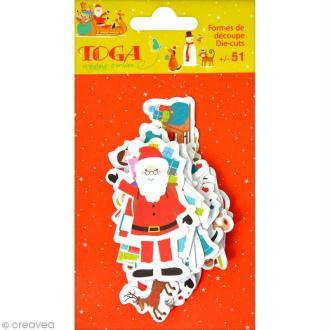 Die cut Toga Noël jouets - 51 pcs