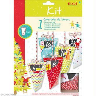 Kit calendrier de l'avent - Berlingots de Noël