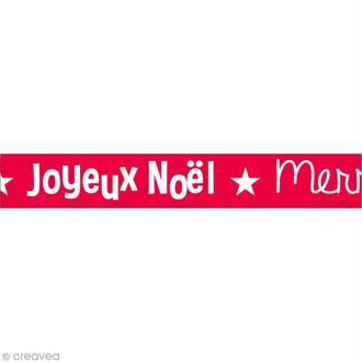 Masking Tape Noël - Joyeux Noël - 10 mètres