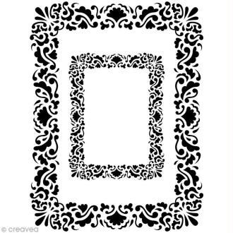 Pochoir Home Deco Cadre rectangulaire - A3 (29,7 x 42 cm)