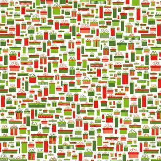 Papier Artepatch Noël - Cadeaux - 40 x 50 cm