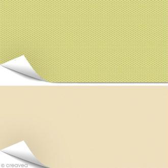 Papier Artepatch - Pure Japon et beige - 2 feuilles de 40 x 50 cm