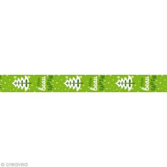 Masking Tape Mon beau sapin - 10 m x 15 mm