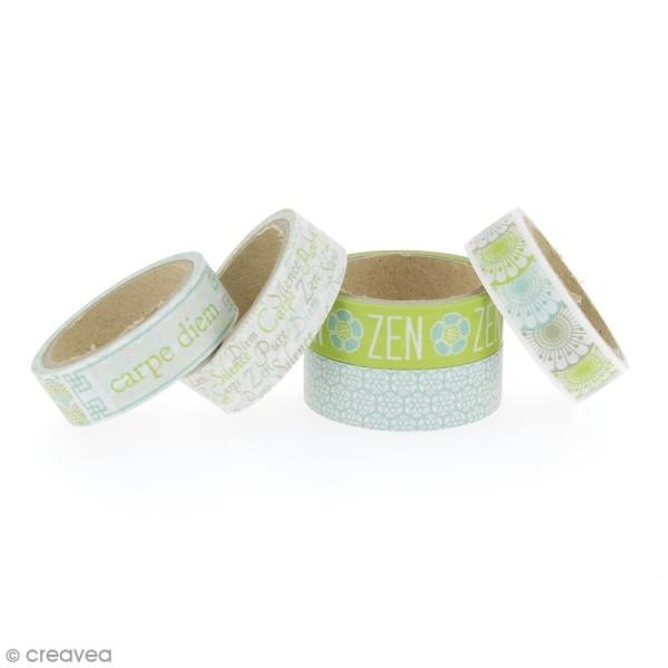 Masking Tape Zen - 11 m x 15 mm x 5 pcs - Photo n°2