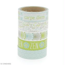 Masking Tape Zen - 11 m x 15 mm x 5 pcs