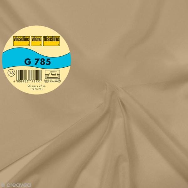 Vlieseline G785 très léger - Largeur 90 cm - Chair - Au mètre (sur mesure) - Photo n°1