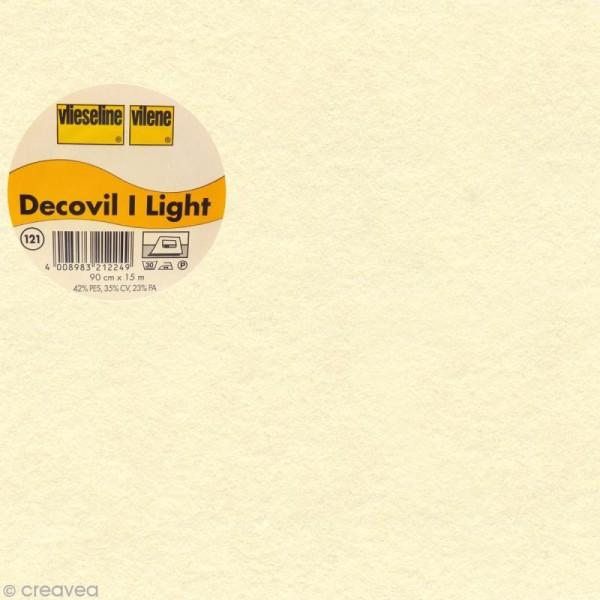 Vlieseline Decovil Light - Largeur 90 cm - Beige - Au mètre (sur mesure) - Photo n°1