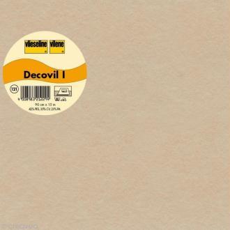 Vlieseline Decovil - Largeur 90 cm - Beige - Au mètre (sur mesure)