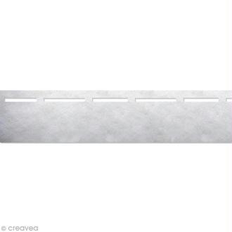 Vlieseline perfobande - Rebord rapide 4 cm - Blanc - Au mètre (sur mesure)